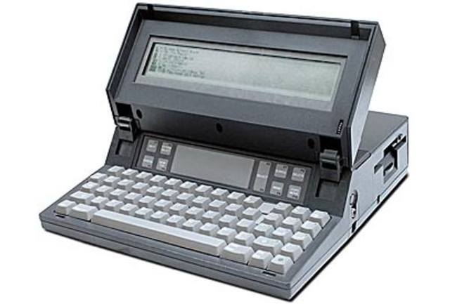 First Laptop Computer