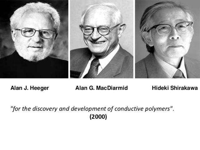 Descubren y desarrollan los primeros polimeros conductores