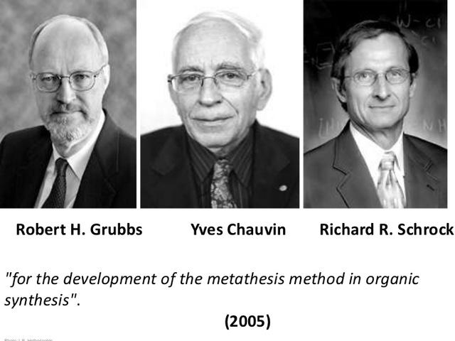 Desarrollo del metodo de metatesis olefinica en la quimica organica