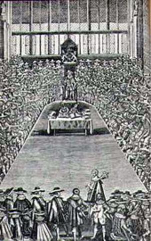 La Petición de Derechos 1628