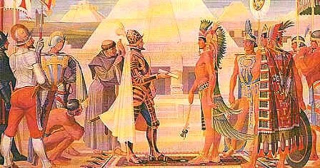 """Caída de Moctezuma-""""Noche Triste"""""""