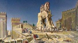The Trojan War by Oscar Esquivias  timeline