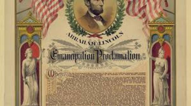 21.	The Emancipation Proclamation