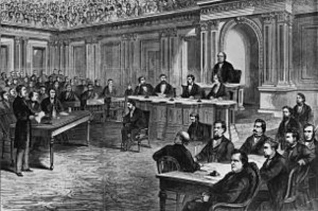 Andrew Johnson's impeachments