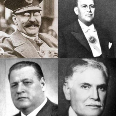 Década Infame (1930-1943) timeline