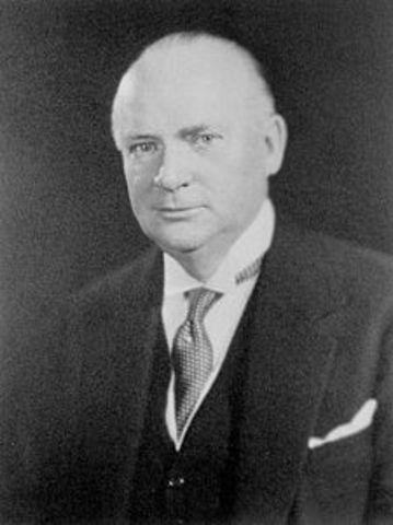 Prime Minister:  R.B. Bennett