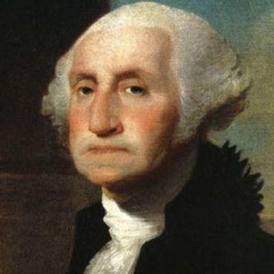 George Washington's biography timeline