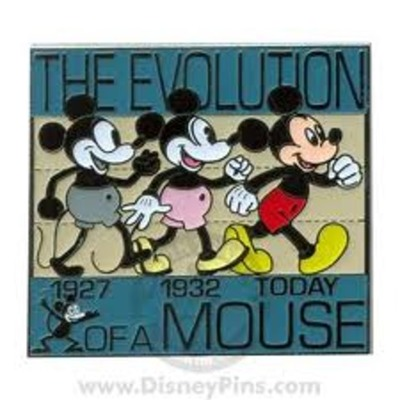 The History of Mickey timeline