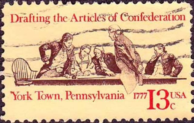 Aprobación de los Artículos de la Confederación