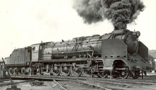 La locomotora de Vapor