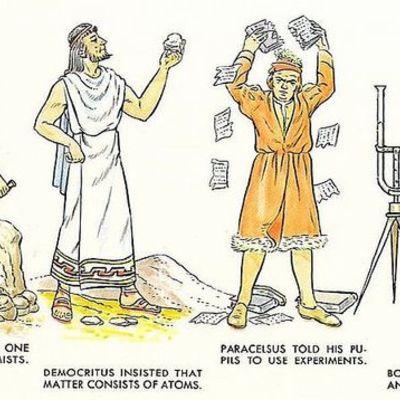 La historia de la química timeline