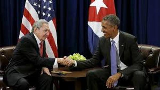 CUBA Y ESTADOS UNIDOS SE ACERCAN
