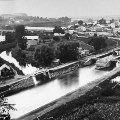 Erie Canal timeline