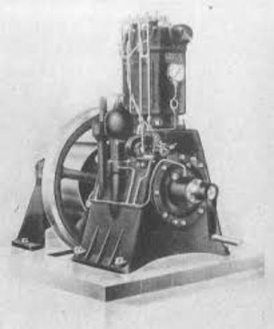 Invención de el motor de gasolina