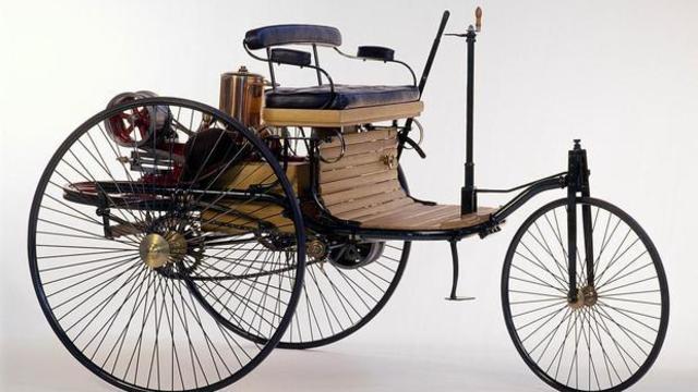 Invención del primer automóvil