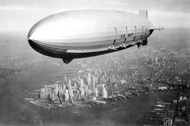 Se construye el dirigible
