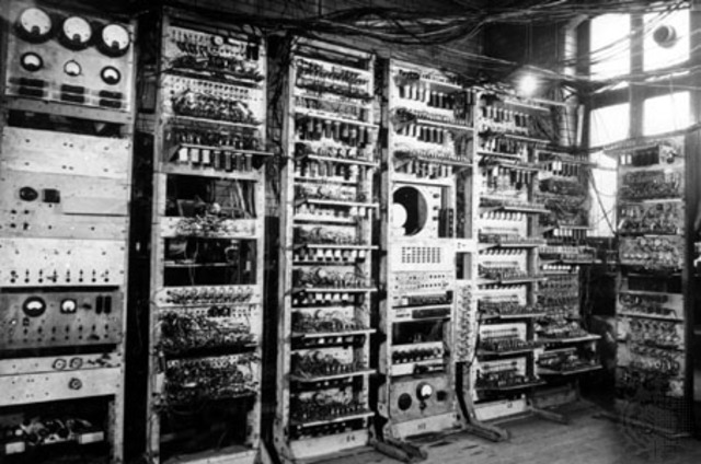 The first stored program computer