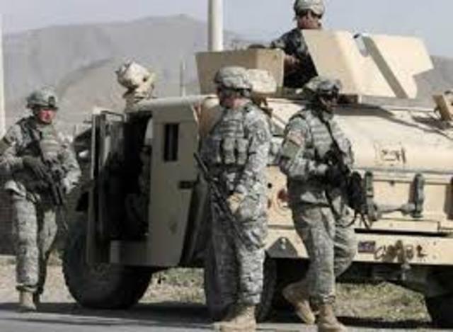 La armada estadounidense,