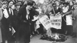 Les Droits des Femmes en France timeline