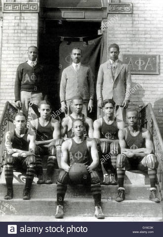 """First All African American Team - The """"Rens"""""""