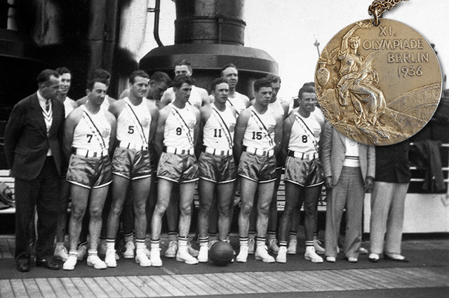 Basketball Becomes an Olympic Sport