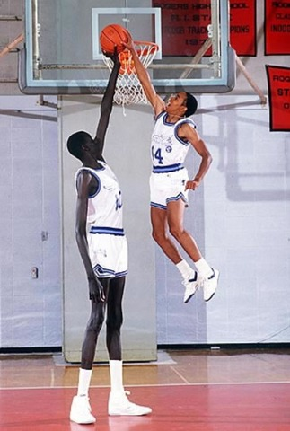 The tallest and shortest NBA players