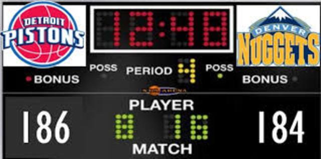 Highest Scoring NBA Game