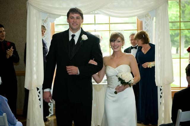 Our Wedding!  Finally!