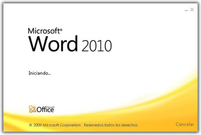 2010: Word 2010