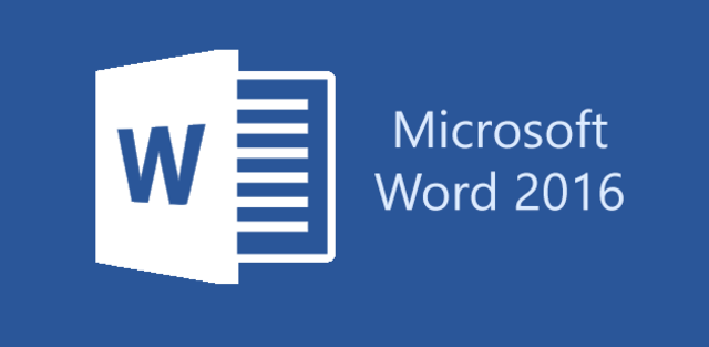 2016: Word 2016