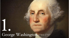The First Five Presidents of the United States of America timeline