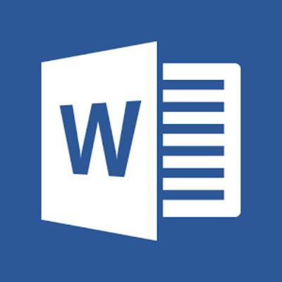 Linea de tiempo de Microsoft Word timeline