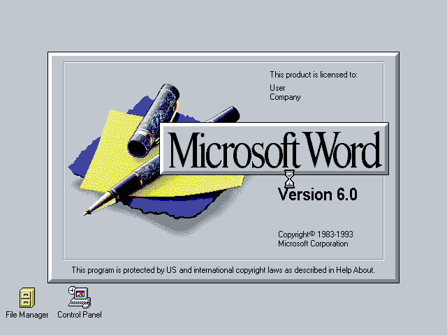 Word 6.0