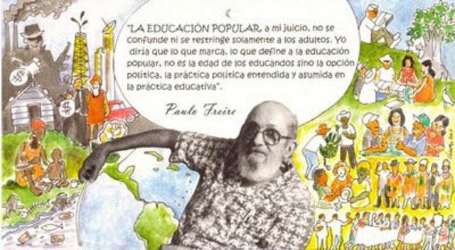 Muerte de Paulo Freire