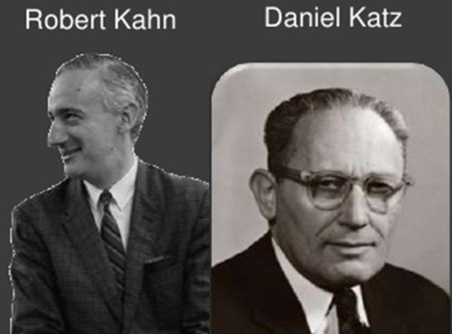 Robert Kahn y Daniel Katz