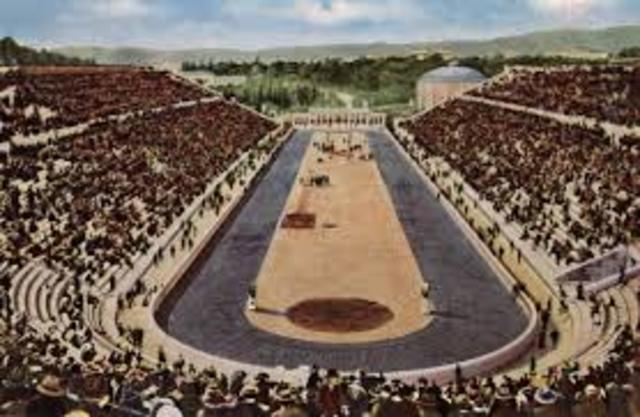 First Olympic Games Part 2