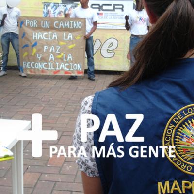 Misiones de Apoyo a Procesos de Paz y Consolidación Democrática OEA timeline