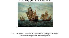 i viaggi oceanici timeline