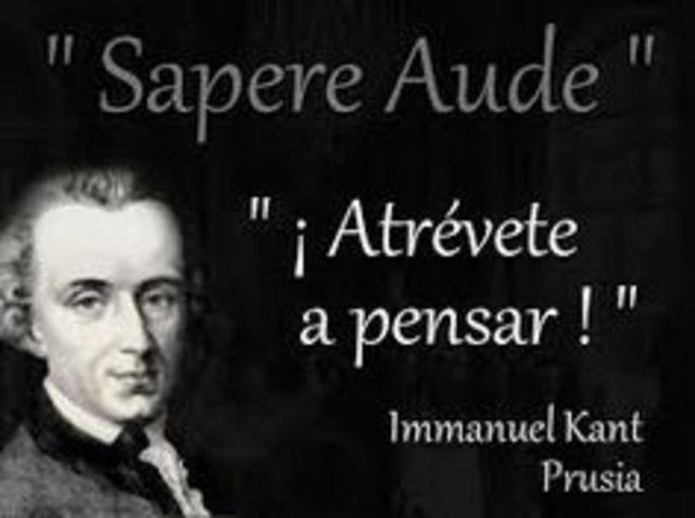 Immanuel Kant (1274- 1084)