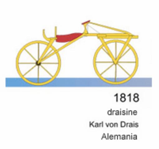 Linea de tiempo de la bicicleta timeline timetoast timelines velocipedo karl drais urtaz Images