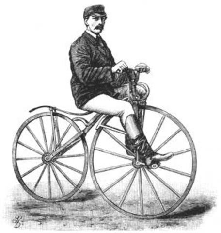 Bicicleta con pedales, Pierre Michaux