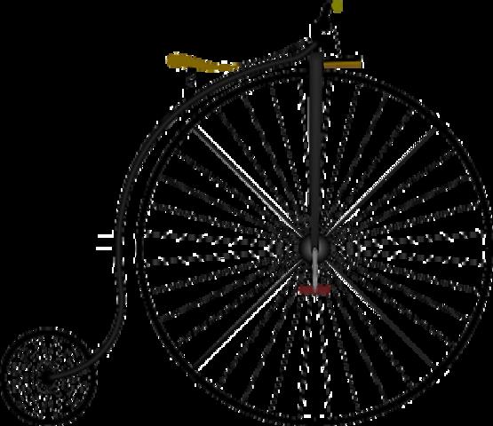 Bicicleta de rueda alta
