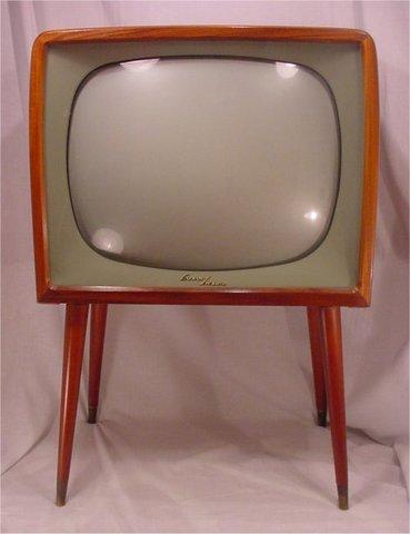 La televisión fuera de los estudios 1958