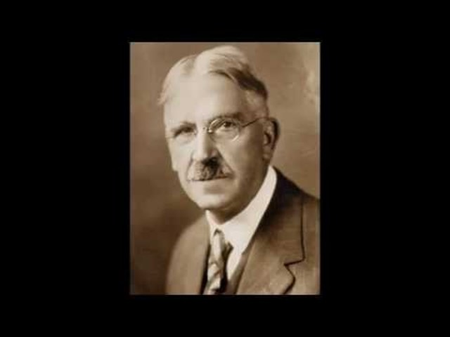 John Dewey Publishes Democracy and Education