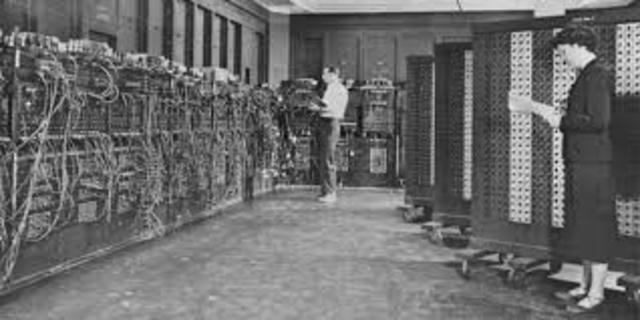 ENIAC, 1945.