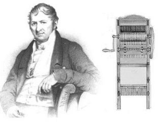 Maquina de algodón