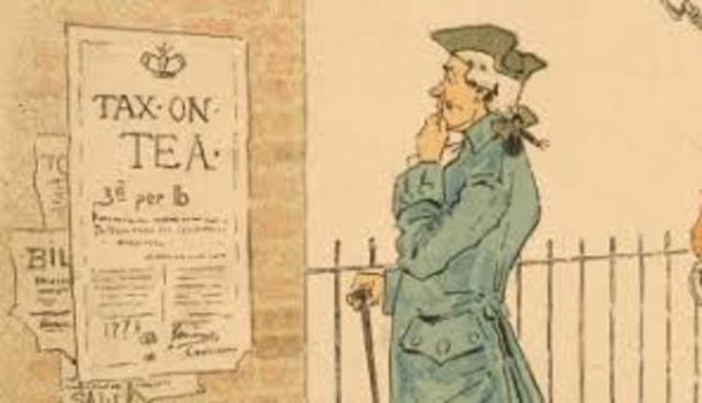 Tea act date in Australia