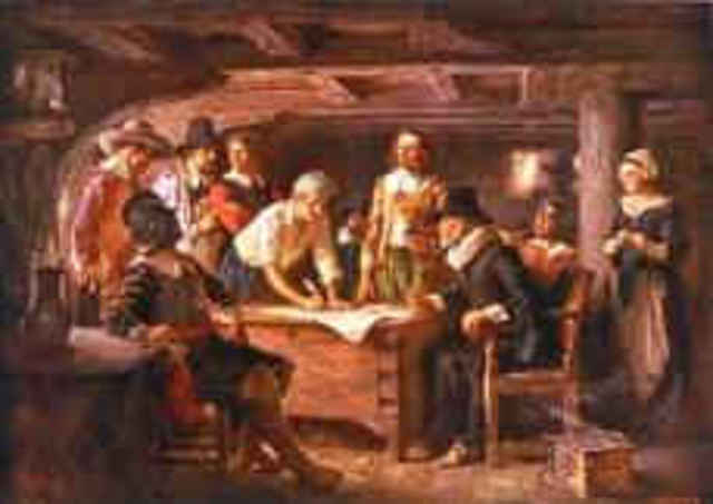 Mayflower Compact was signed.