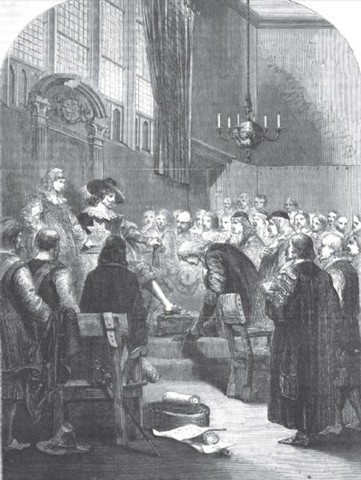 Carlos I convoca al Parlamento