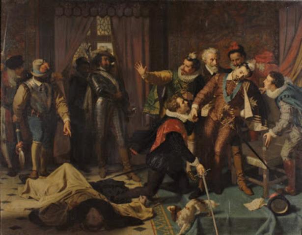El rey Carlos I es derrotado
